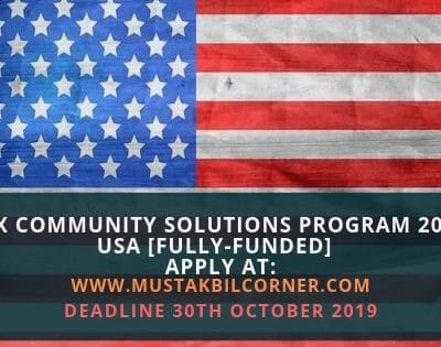 IREX Community Solutions Program 2020
