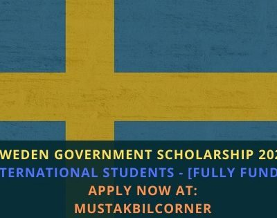 Sweden Government Scholarship 2020