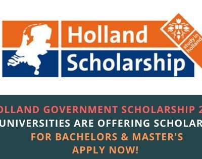 Holland Government Scholarship 2020