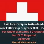 Internship in Switzerland