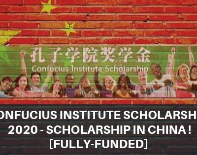Confucius Institute Scholarship 2020