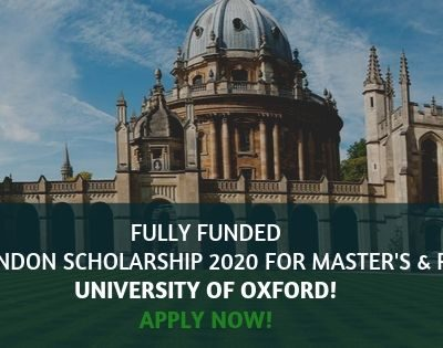 Clarendon Scholarship 2020