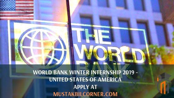 World Bank Winter Internship