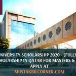 Qatar University Scholarship 2020