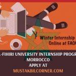 Fatima Al-Fihiri University Internship