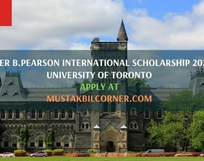 Lester B.Pearson International Scholarship