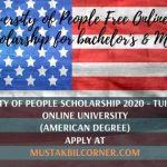 University of People Scholarship