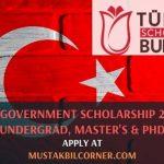 Turkey Government Scholarship 2020