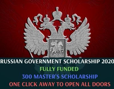 Russian Government Scholarship 2020