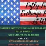 Hansen Summer Institute Exchange Program