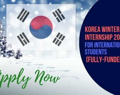 Korea Winter Internship 2020