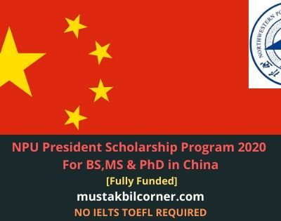 NPU President Scholarship Program