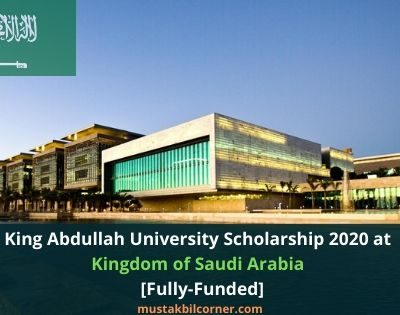 King Abdullah University Scholarship 2020
