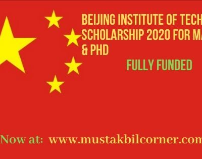 Beijing Institute of Technology Scholarship 2020
