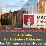 Macquarie University Scholarship 2020