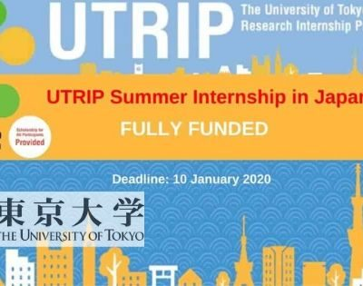 Summer Internship in Japan