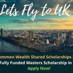 Fully Funded Masters Scholarship in UK