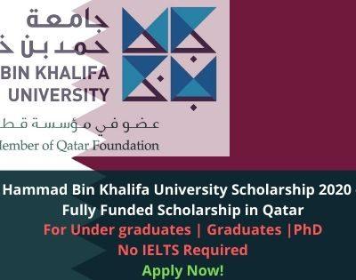Hammad Bin Khalifa University Scholarship