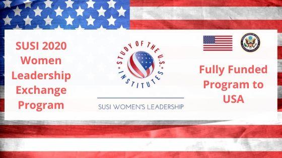 SUSI 2020 Women Leadership