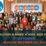 Global Solution Summer School