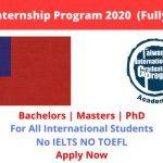 Taiwan Internship Program 2020