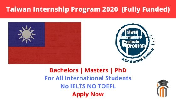 Chemistry Summer Internships 2020.Taiwan Internship Program 2020 For Undergraduates Masters