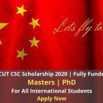 SCUT CSC Scholarship 2020