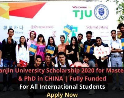 Tianjin University Scholarship 2020