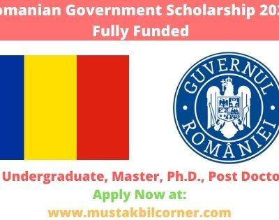 Romanian Government Scholarship 2020