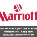 Marriott International Jobs 2020