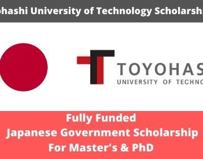 Toyohashi University of Technology Scholarship 2020