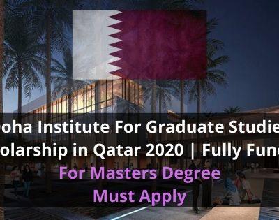 Doha Institute Scholarship 2020