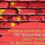 CSC Scholarship 2020