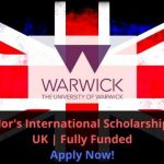 Chancellor's International Scholarship 2020