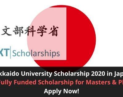 Hokkaido University Scholarship 2020