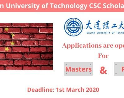 Dalian University of Technology CSC Scholarship