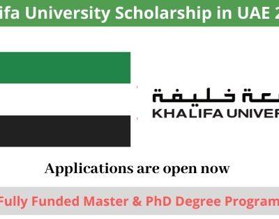 Khalifa University Scholarship