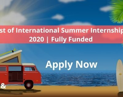 List of International Internships 2020