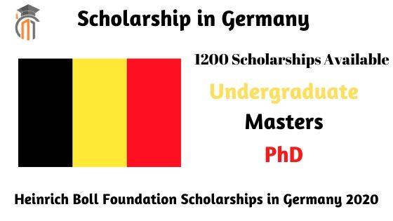 Heinrich Boll Foundation Scholarships