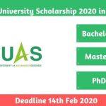 Koyoto University Scholarship 2020