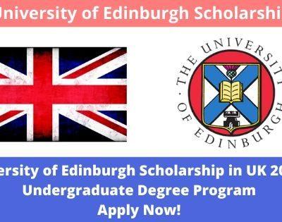 University of Edinburgh Scholarship