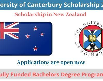 University of Canterbury Scholarship