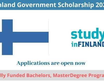 Finland Government Scholarship 2020