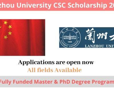 Lanzhou University CSC Scholarship