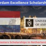 Amsterdam Excellence Scholarship 2020