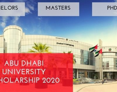 Abu Dhabi University Scholarship