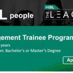 HBL Management Trainee Program 2020