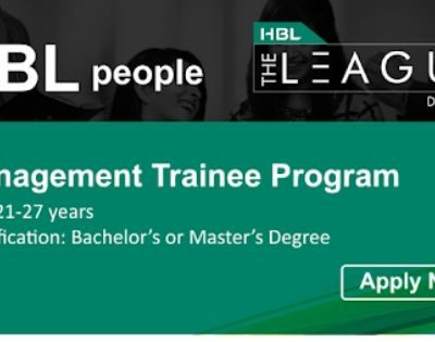 HBL Management Trainee Program 2020