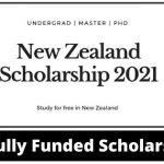 New Zealand Government Scholarship 2020