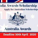 Australian Awards Scholarships 2020